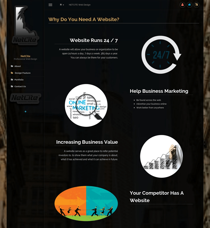 NetCite.ca / 웹디자인